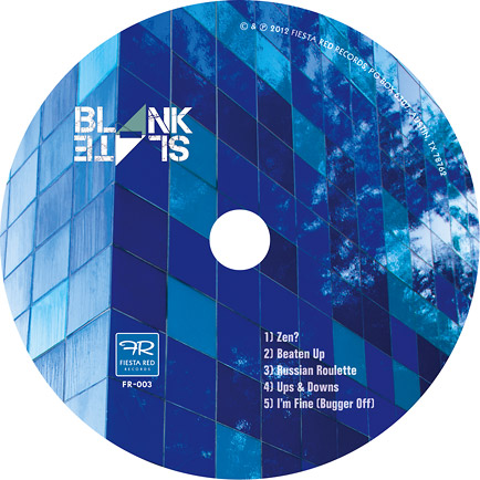 Blank Slate CD label