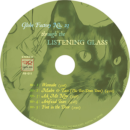 Through the Listening Glass CD label
