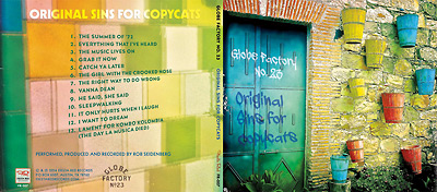 Original Sins for Copycats CD cover