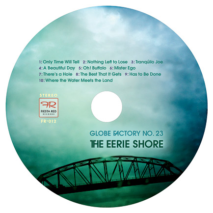 The Eerie Shore CD label